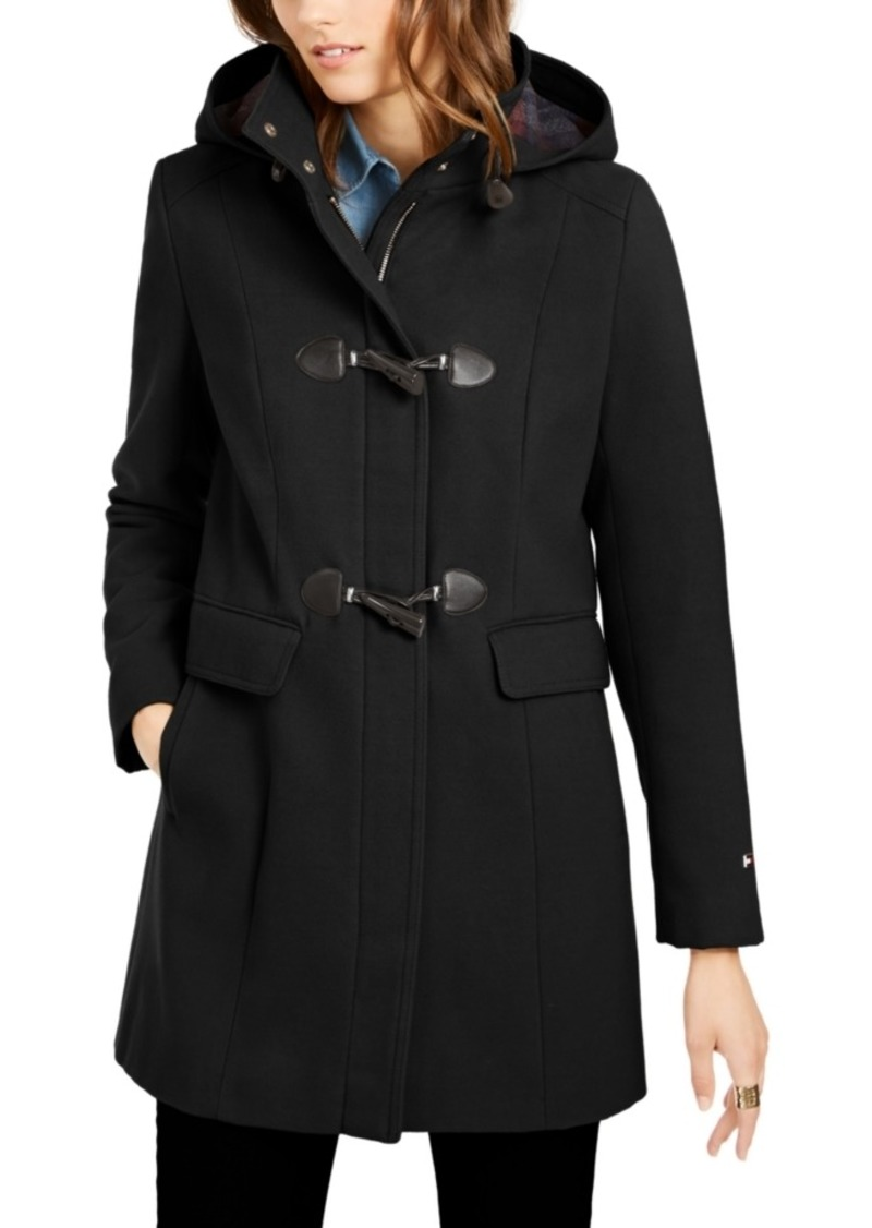 Tommy Hilfiger Hooded Toggle Coat, Created for Macy's