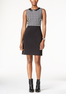Tommy Hilfiger Houndstooth Shift Dress