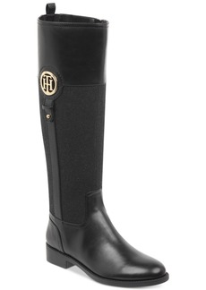 Tommy Hilfiger Ilia Riding Boots, Created for Macy's Women's Shoes