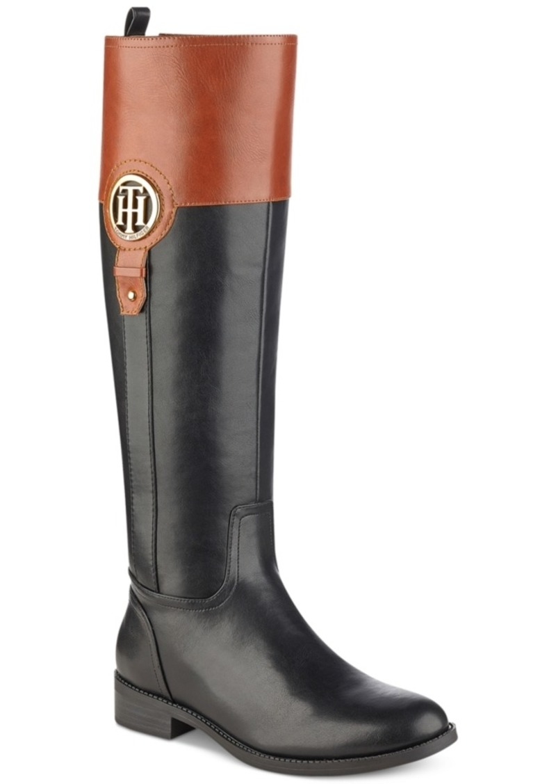 c3264e37eb7 On Sale today! Tommy Hilfiger Tommy Hilfiger Ilia Riding Boots ...