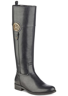 Tommy Hilfiger Ilia Wide Calf Riding Boots, Created for Macy's Women's Shoes