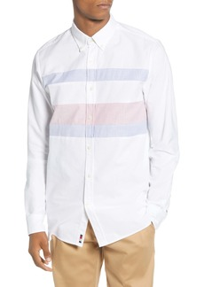 Tommy Hilfiger Ithaca Flag Slim Fit Button-Down Shirt