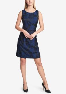 Tommy Hilfiger Jacquard Fit & Flare Dress