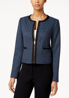 Tommy Hilfiger Jacquard Zip-Front Jacket