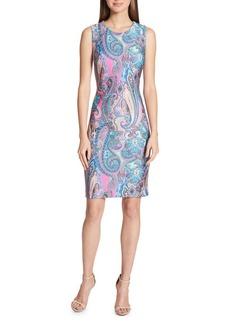 Tommy Hilfiger Jaipur Paisley Sheath Dress