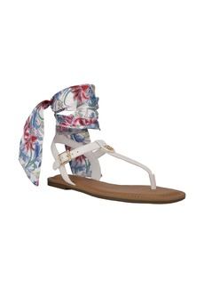Tommy Hilfiger Jinis Ankle Wrap Sandal (Women)