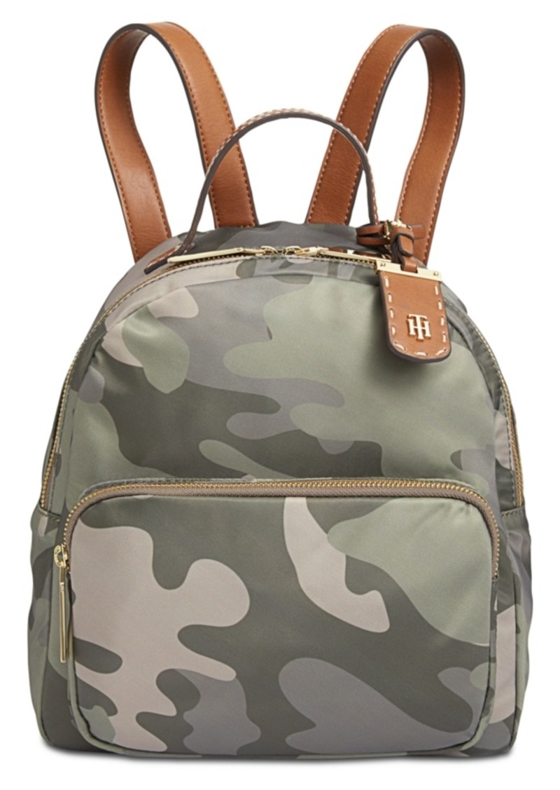 Tommy Hilfiger Julia Camo Small Dome Backpack
