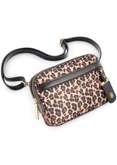 Tommy Hilfiger Julia Leopard Nylon Belt Bag