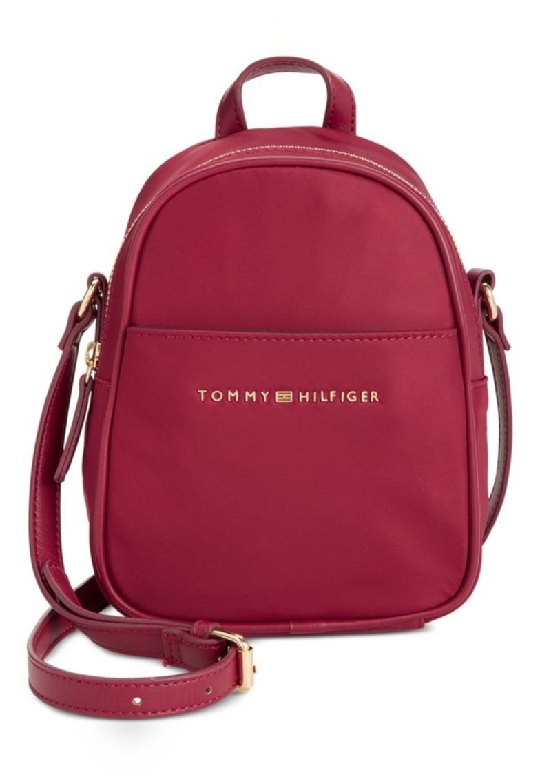 9c7745e04428 Tommy Hilfiger Tommy Hilfiger Juliette Nylon Mini Backpack Crossbody ...