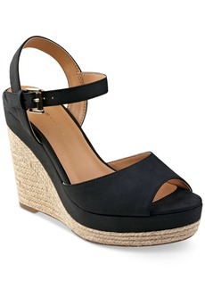 Tommy Hilfiger Kali Platform Espadrille Wedge Sandals Women's Shoes