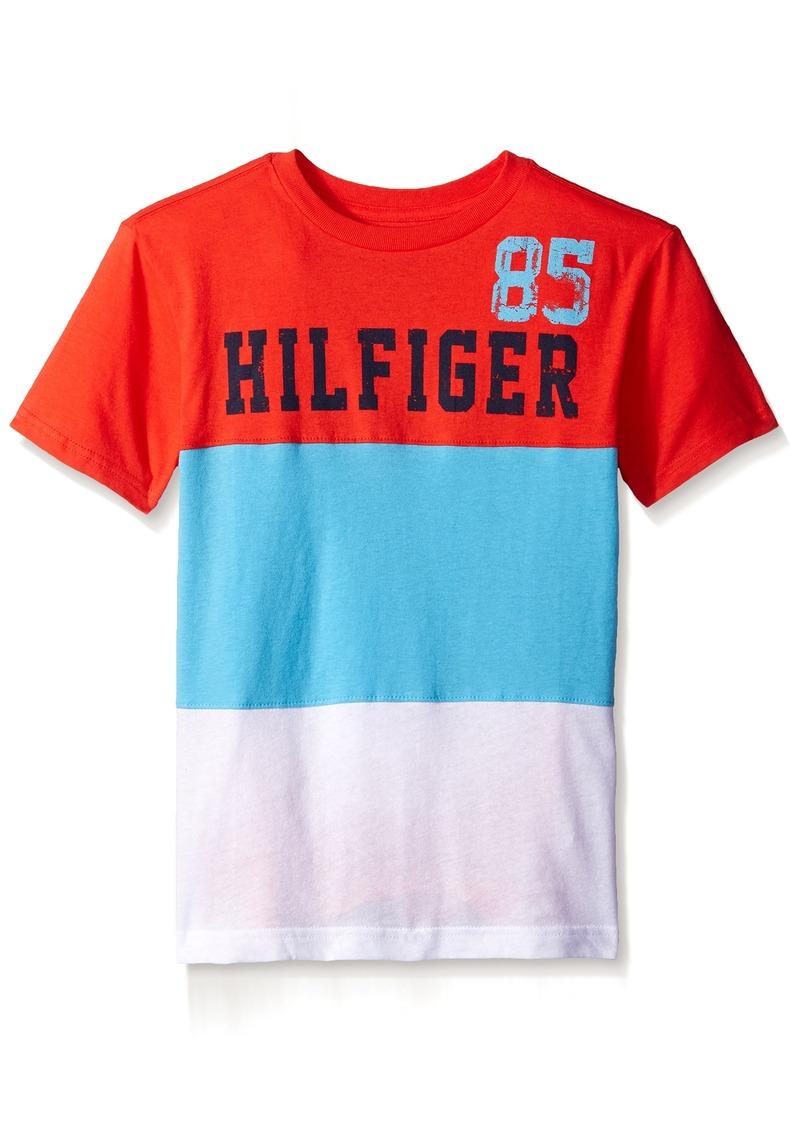 3ed2e14b Tommy Hilfiger Tommy Hilfiger Kids Big Boys Boris Stripe Tee | Tshirts