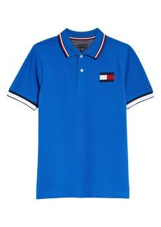 Tommy Hilfiger Kids' Flag Badge Piqué Polo (Big Boy)