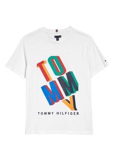 Tommy Hilfiger Kids' Logo Graphic Tee (Big Boy)