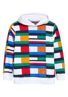 Tommy Hilfiger Kids' Pattern Pullover Hoodie (Big Boy)