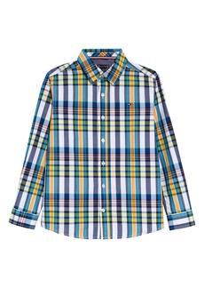 Tommy Hilfiger Kids' Plaid Button-Up Shirt (Big Boy)