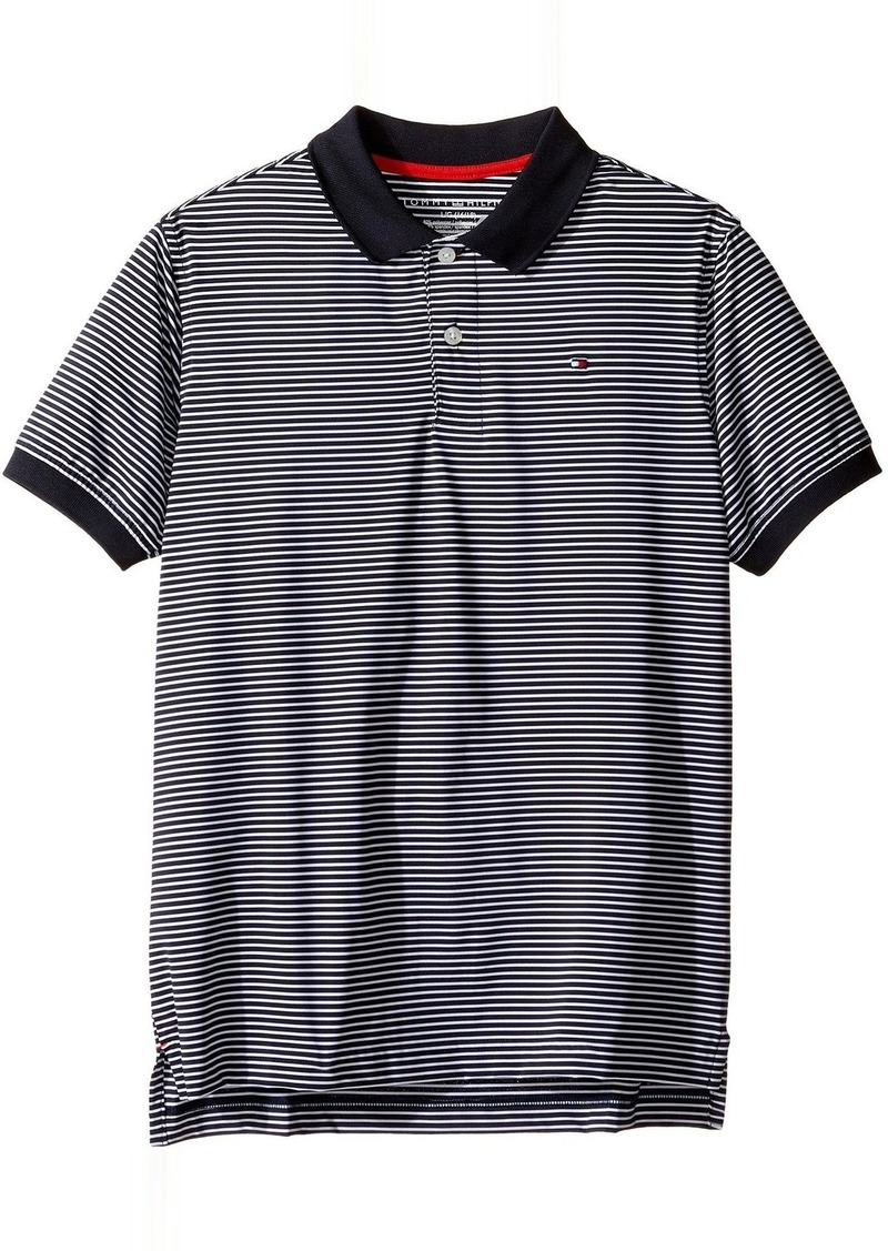 ae998385 Tommy Hilfiger Tommy Hilfiger Kids Stripe Stretch Synthetic Polo ...