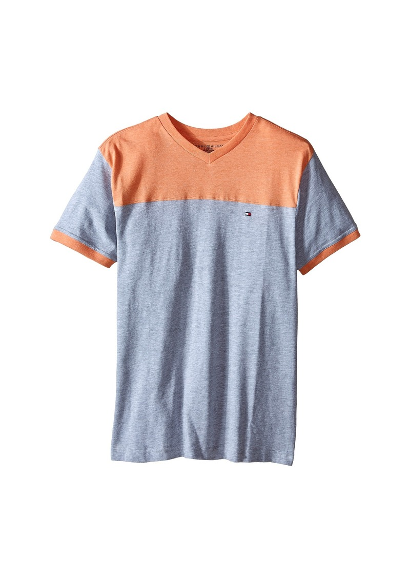 Tommy Hilfiger Kids Ventura Yolk Tee (Big Kid)