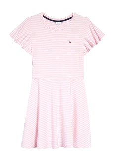 Tommy Hilfiger Kids' Yarn Dyed Stripe Dress (Big Girl)