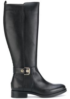 Tommy Hilfiger knee high boots - Black