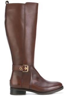 Tommy Hilfiger knee high boots - Brown