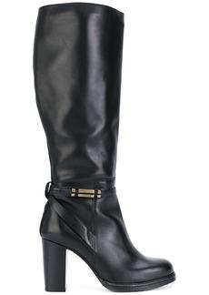 Tommy Hilfiger knee length boots - Black