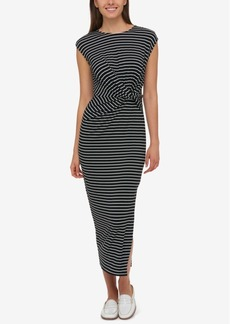 Tommy Hilfiger Knotted Midi Dress, Created for Macy's