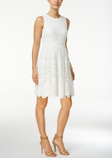 Tommy Hilfiger Lace A-Line Dress