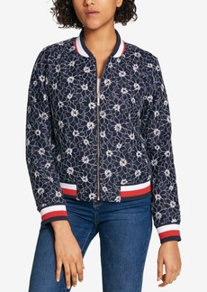Tommy Hilfiger Lace Bomber Jacket, Created for Macy's