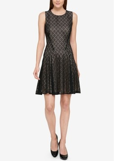Tommy Hilfiger Lace Drop-Waist Dress