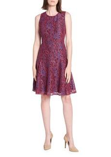 Tommy Hilfiger Lace Fit-&-Flare Dress