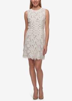 Tommy Hilfiger Lace Sheath Dress, Only at Macy's