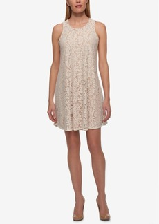 Tommy Hilfiger Lace Trapeze Dress