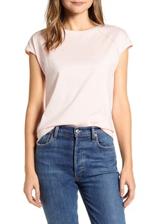 Tommy Hilfiger Lace Trim Cap Sleeve Tee