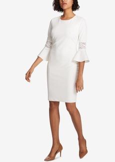 Tommy Hilfiger Lace-Trim Sheath Dress