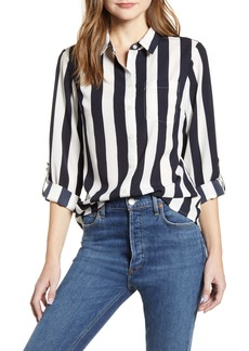 Tommy Hilfiger Lawn Stripe Button-Up Shirt