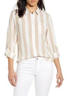 Tommy Hilfiger Lawn Stripe Button-Up Shirt