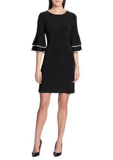 Tommy Hilfiger Layered Bell-Sleeve Dress