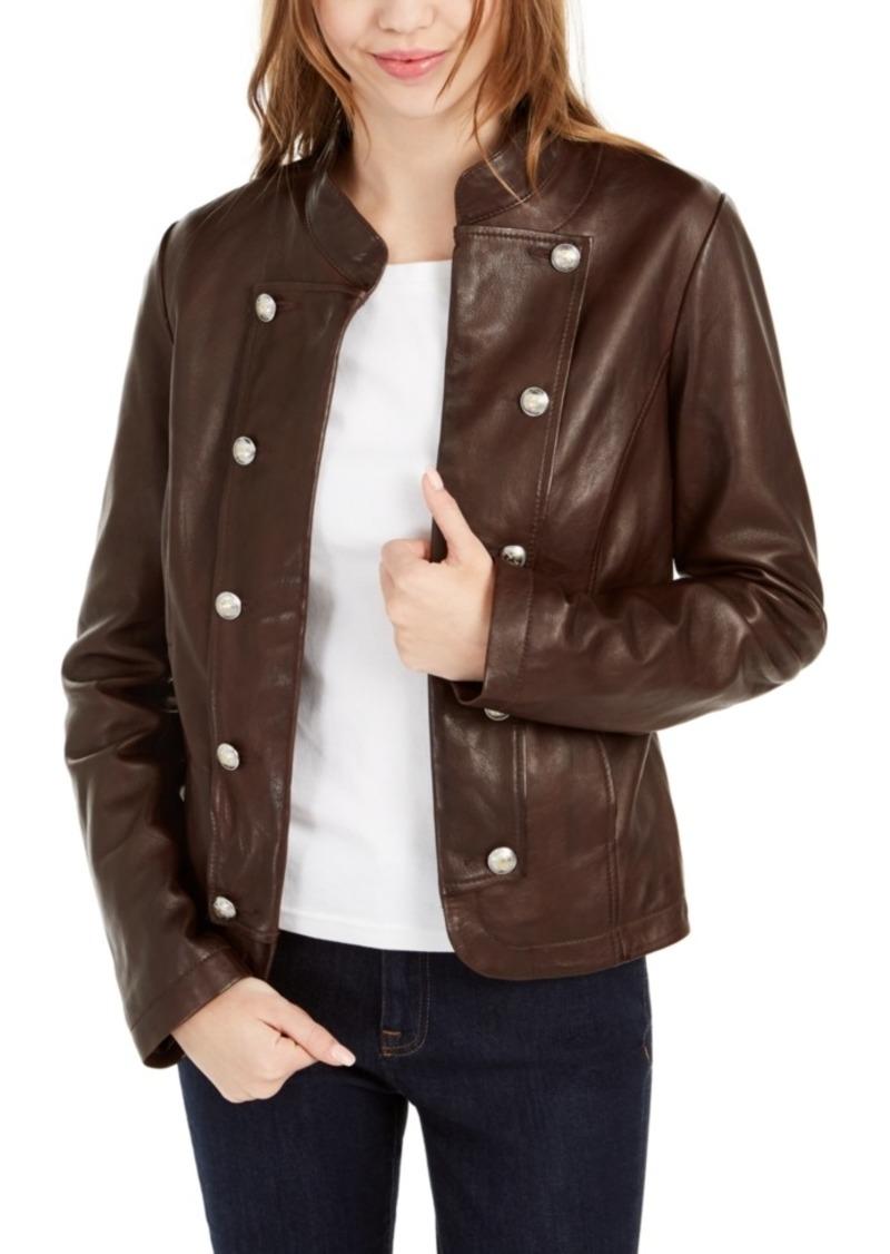 Tommy Hilfiger Leather Band Jacket