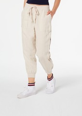Tommy Hilfiger Linen Cargo Pants, Created for Macy's