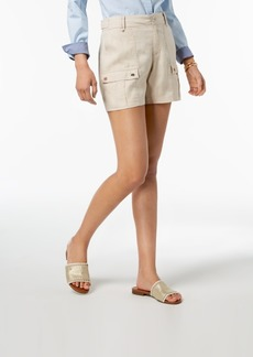 Tommy Hilfiger Linen Cargo Shorts, Created for Macy's