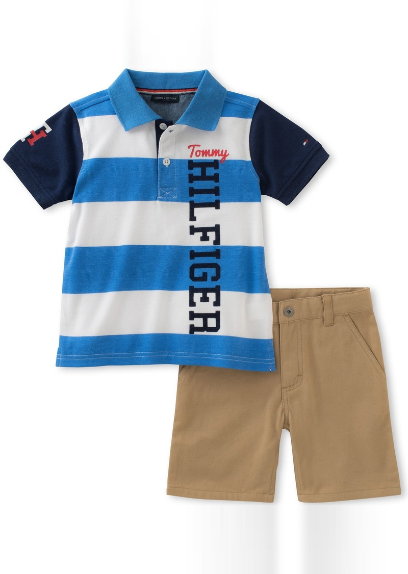 : Tommy Hilfiger Little Boys' Toddler Chambray