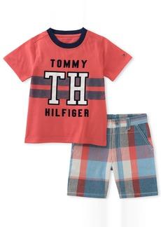 Tommy Hilfiger Little Boys' 2 Piece Short Set
