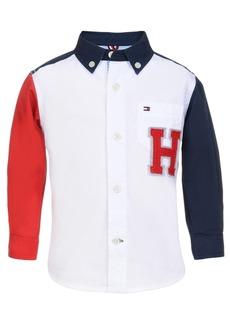 Tommy Hilfiger Little Boys Andrew Colorblocked Shirt