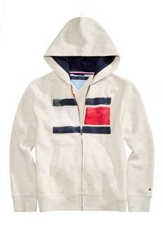 Tommy Hilfiger Little Boys Back Art Full-Zip Hooded Sweatshirt