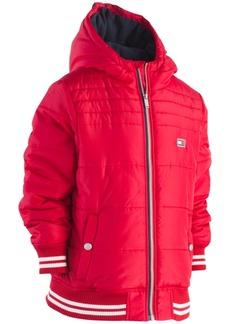 Tommy Hilfiger Little Boys Bailey Hooded Puffer Jacket