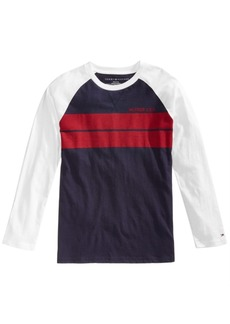 Tommy Hilfiger Little Boys Baron Striped Cotton T-Shirt
