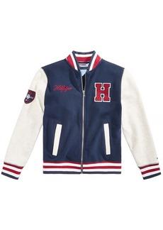 Tommy Hilfiger Little Boys Baseball Varsity Jacket