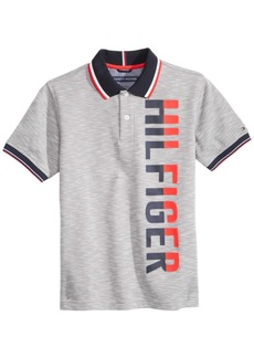 Tommy Hilfiger Little Boys Colby Graphic-Print Polo