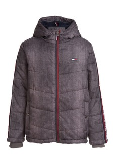 Tommy Hilfiger Little Boys Crosby Signature Puffer Jacket