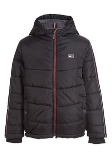 Tommy Hilfiger Toddler Boys Crosby Signature Puffer Jacket